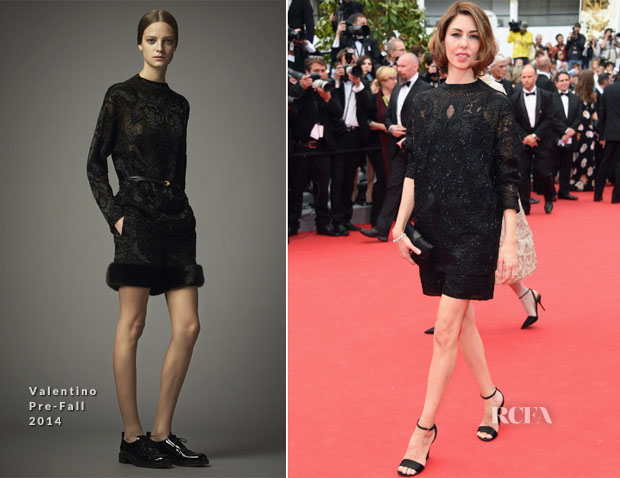 Sofia Coppola In Valentino - 'Grace of Monaco' Cannes Film Festival Premiere & Opening Ceremony
