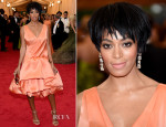 Solange Knowles In 3.1 Phillip Lim - 2014 Met Gala