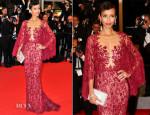 Sonia Rolland In Zuhair Murad - 'Timbuktu' Cannes Film Festival Premiere