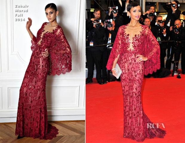 Sonia Rolland In Zuhair Murad - 'Timbuktu' Cannes Film Festival Premiere2