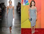 Sophia Bush In Cushnie Et Ochs - 2014 NBC Upfront Presentation