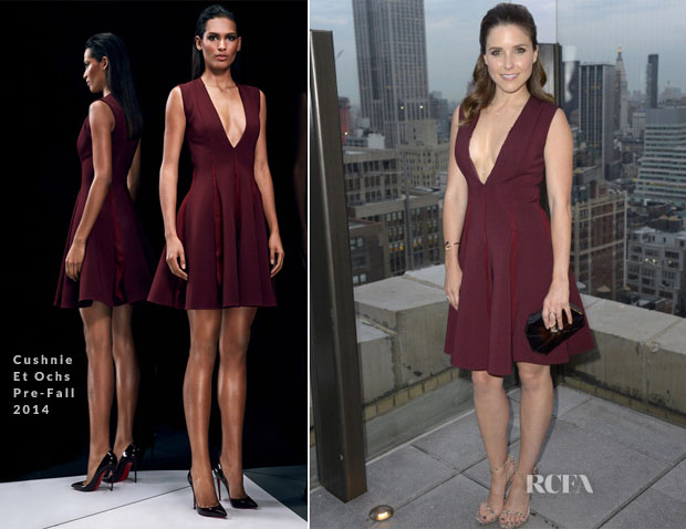 Sophia Bush In Cushnie Et Ochs - Skylark Affiliate Party