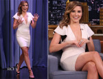 Sophia Bush In Robert Rodriguez - The Tonight Show Starring Jimmy Fallon