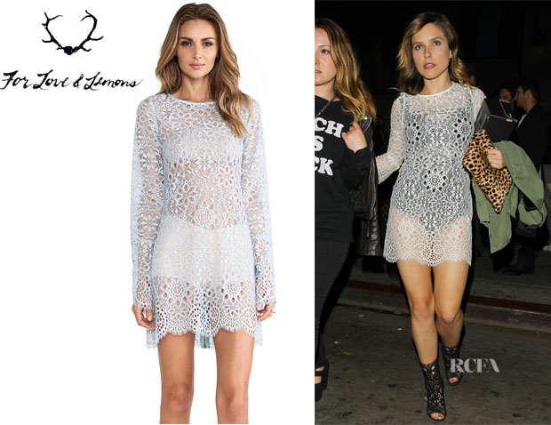 Sophia Bush's For Love & Lemons 'Love Birds' Dress1