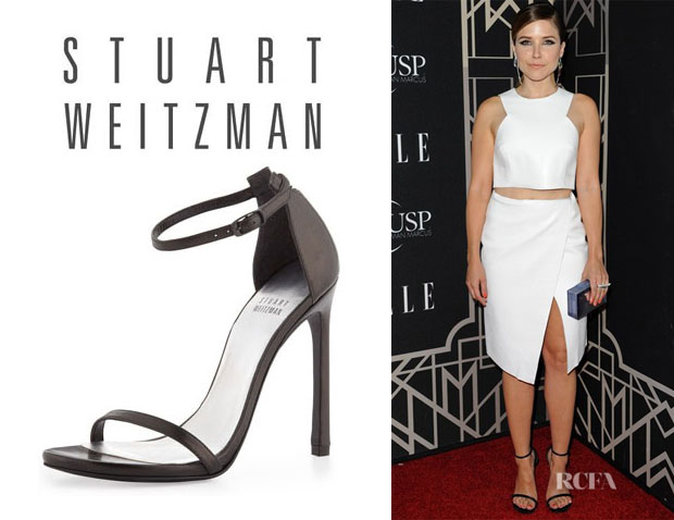 Sophia Bush's Stuart Weitzman 'Nudist' Sandals