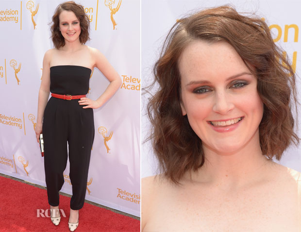 Sophie McShera In Topshop - An Afternoon with 'Downton Abbey'