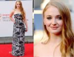 Sophie Turner In Michael Van Der Ham - Arqiva British Academy Television Awards