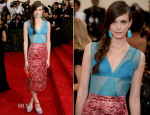 Stacy Martin In Miu Miu - 2014 Met Gala
