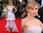 Suki Waterhouse In Christian Dior - 'The Homesman' Cannes Film Festival Premiere