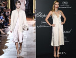Suki Waterhouse In Stella McCartney - Chopard Dinner