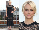 Taylor Schilling In Vionnet - 'Orange Is The New Black' Season 2 London Photocall