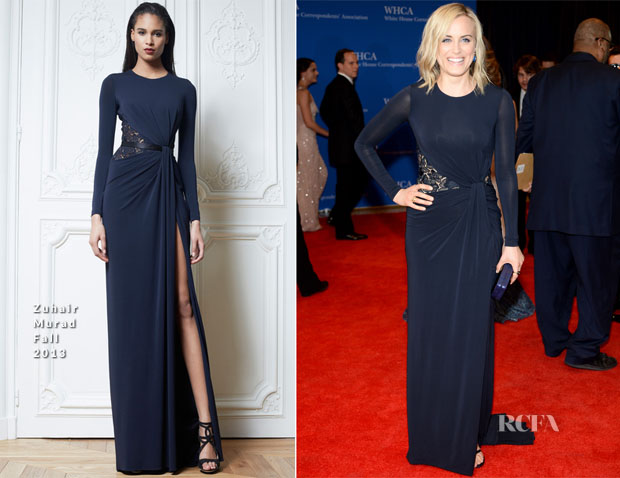 Taylor Schilling In Zuhair Murad - 100th Annual White House Correspondents' Association Dinner