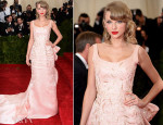 Taylor Swift In Oscar de la Renta - 2014 Met Gala