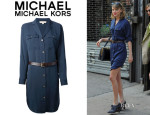 Taylor Swift's Michael Michael Kors Shirt Dress