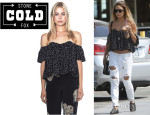 Vanessa Hudgens' Stone Cold Fox 'Holy' Tube Top