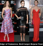 Which Was Your Favourite Emily Blunt 'Edge of Tomorrow' Red Carpet Repeat Tour Look?
