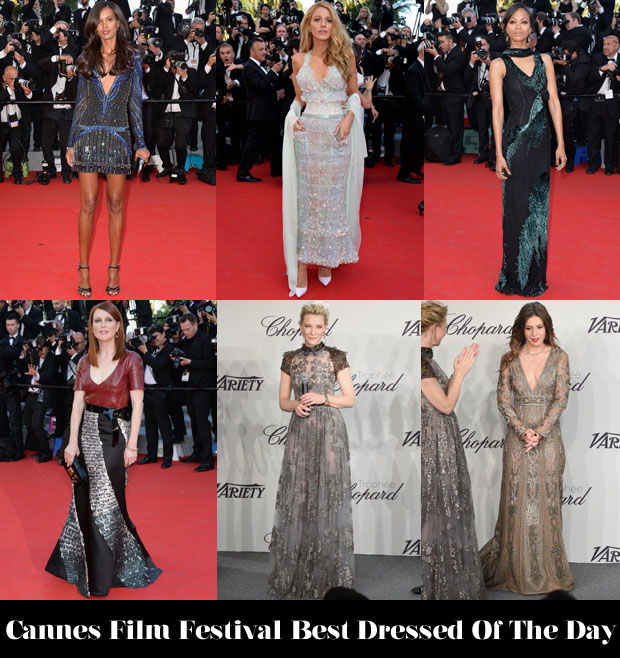 Who Was Your Best Dressed On Day 2 of Cannes Film Festival 2014