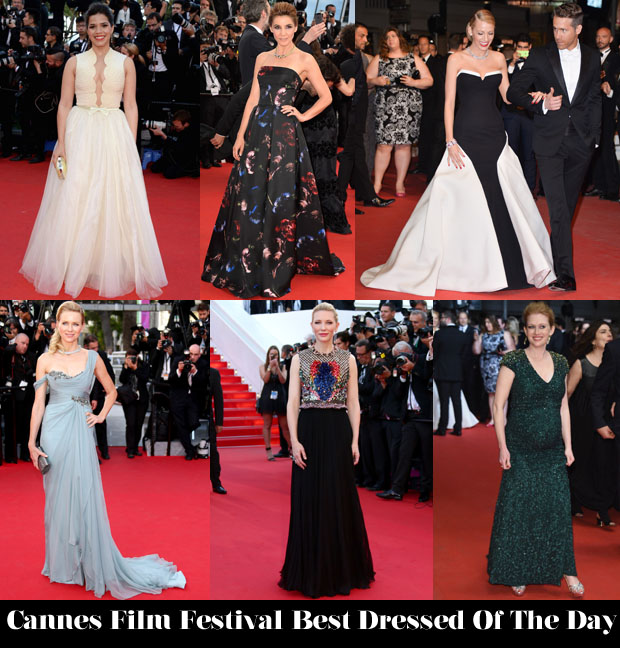Who Was Your Best Dressed On Day 3 of Cannes Film Festival 2014