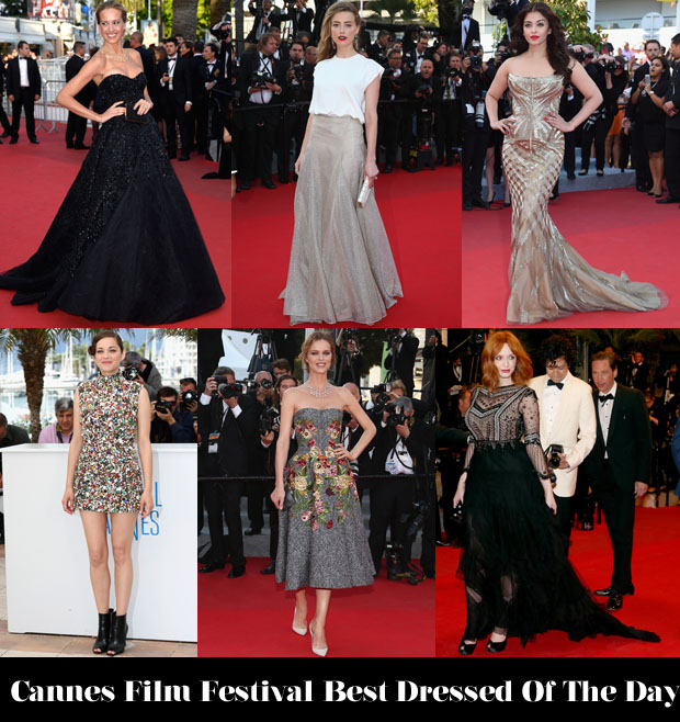 Who Was Your Best Dressed On Day 7 of Cannes Film Festival 2014