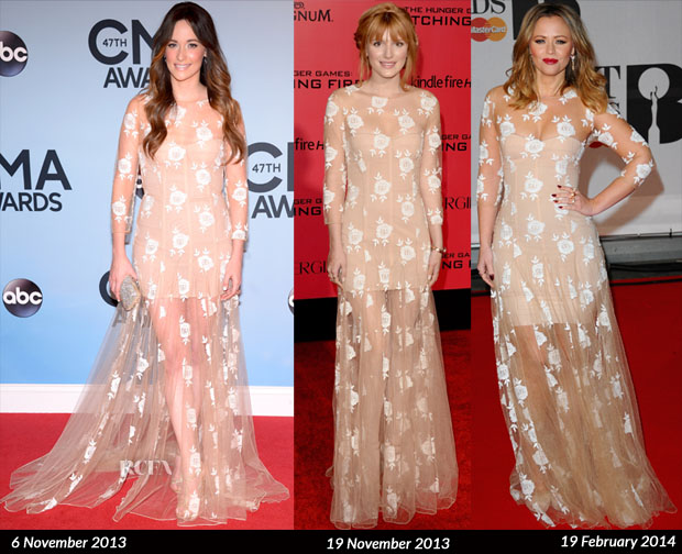 Who Wore Blumarine Better Kacy Musgraves, Bella Thorne or Kimberly Walsh