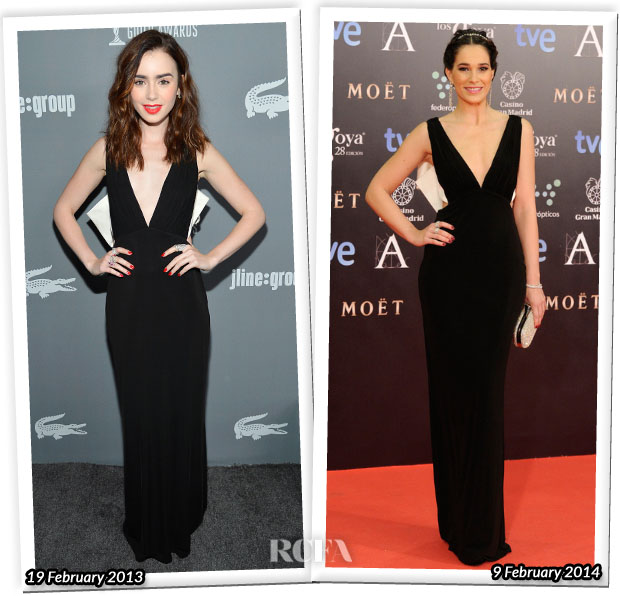 Who Wore Paule Ka Better Lily Collins or Celia Freijeiro