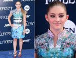 Willow Shields In Mary Katrantzou - 'Maleficent' World Premiere