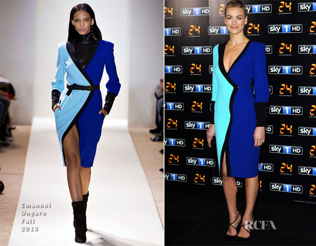 Yvonne Strahovski In Emanuel Ungaro - '24 Live Another Day'