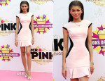 Zendaya Coleman In Ted Baker London - Millions Of Milkshakes Store Opening Ceremony