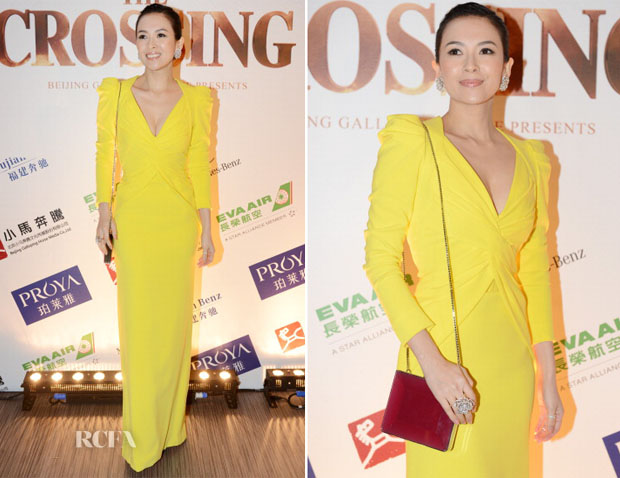 Zhang Ziyi In Rubin Singer - 'The Crossing' Cannes Film Festival Party