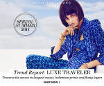 Trend Report: Luxe Traveler