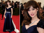 Zooey Deschanel In Tommy Hilfiger – 2014 Met Gala