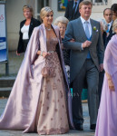Queen Máxima of The Netherlands - Jan Taminiau Couture -  Juan Zorreguieta and Andrea Wolf's Wedding