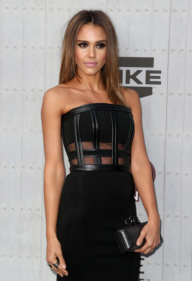 Jessica Alba in David Koma