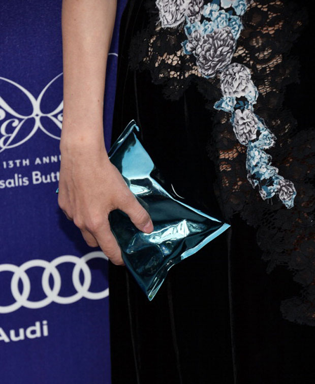 Diane Kruger's Anya Hindmarch Crisp Packet Clutch