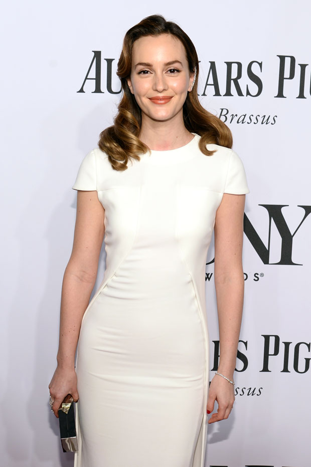 Leighton Meester in Antonio Berardi