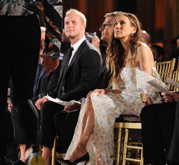 Sarah Jessica Parker in Schiaparelli Couture