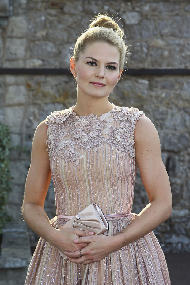 Jennifer Morrison in Georges Hobeika Couture