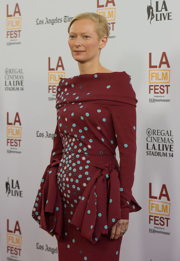 Tilda Swinton in Schiaparelli Couture