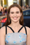 Zoey Deutch in Tanya Taylor