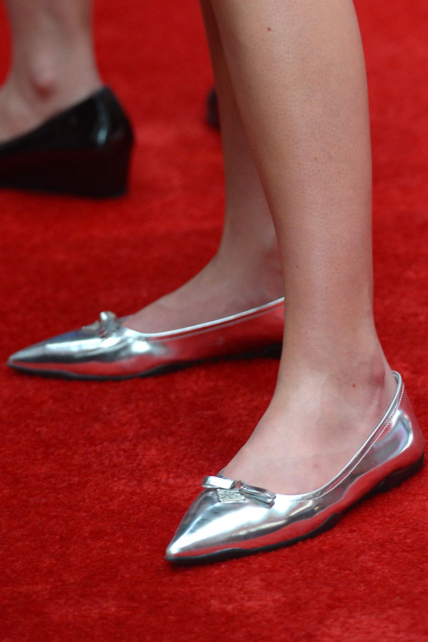 Bonnie Wright's Miu Miu shoes