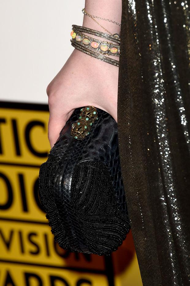 Michelle Trachtenberg's clutch