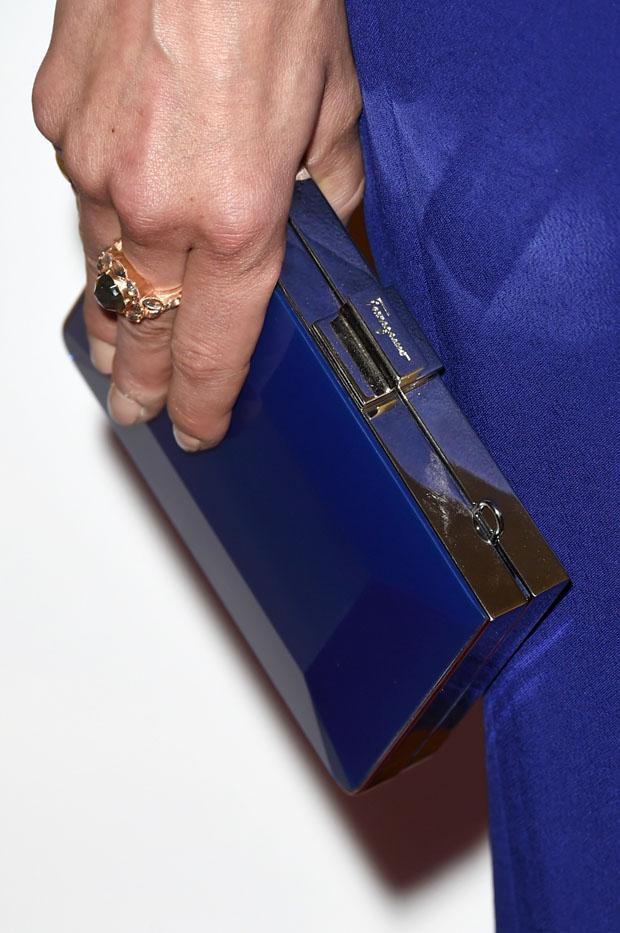 Michelle Monaghan's Ferragamo clutch