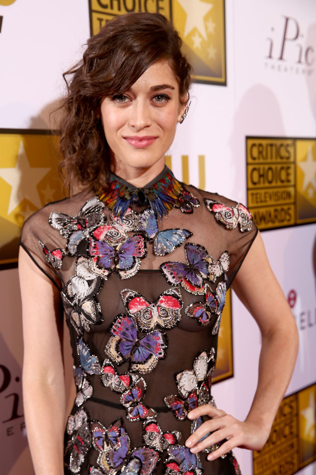 Lizzy Caplan in Valentino