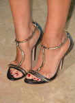 Kaley Cuoco's Greymer sandals