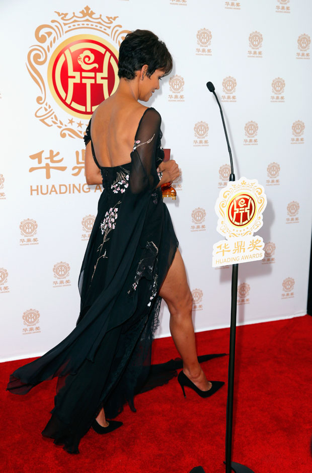 Halle Berry in Elie Saab Couture