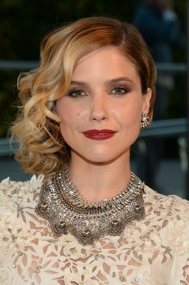 Sophia Bush in Marchesa