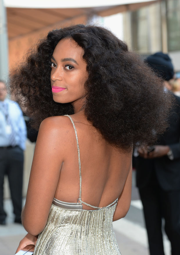 Solange Knowles in Calvin Klein Collection