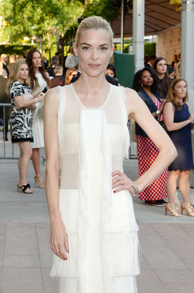 Jaime King in Calvin Klein Collection