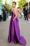 Bridget Moynahan in Lela Rose