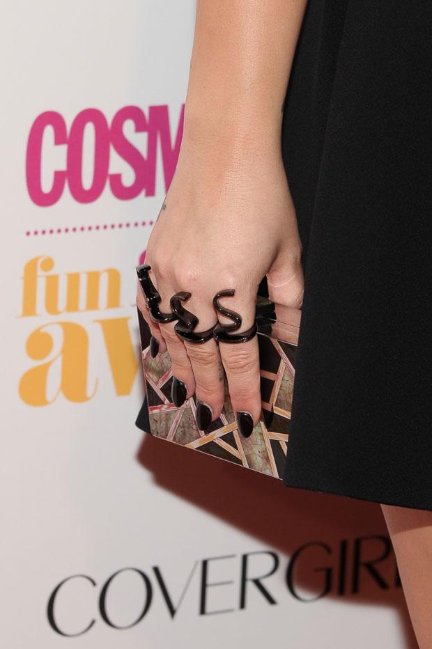 Demi Lovato's Emm Kuo clutch